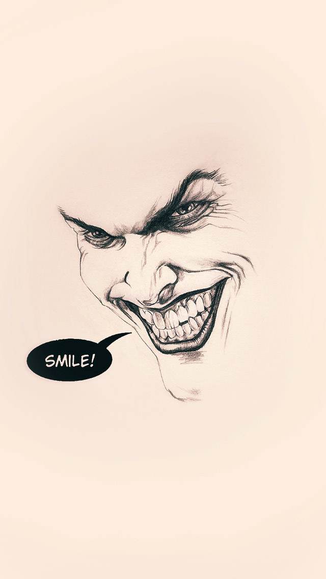 Joker Smile Painting
