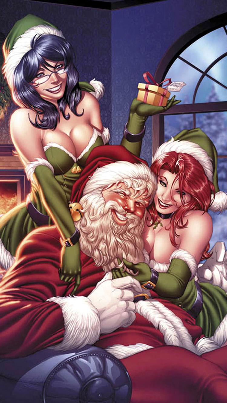 Santa Claus Christmas Girls