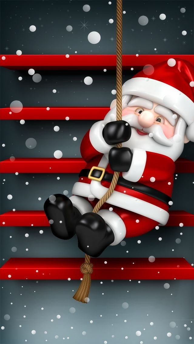 Santa Claus On Home Screen