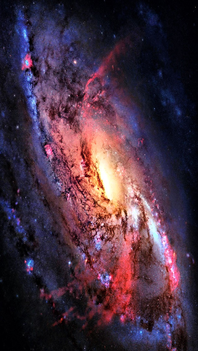 Swirling Galaxy Wallpaper