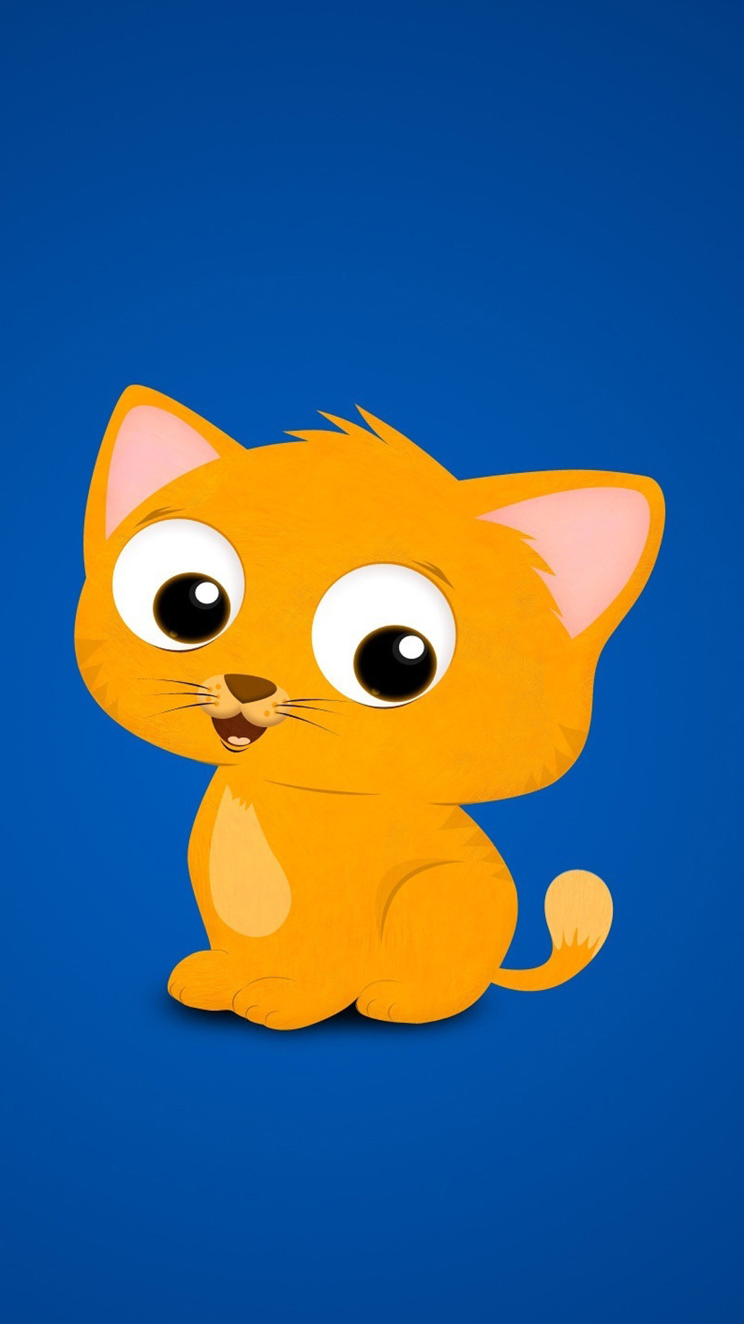 Cartoon Kitten Wallpaper