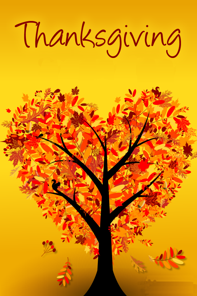 Heart Shape Tree Wallpaper