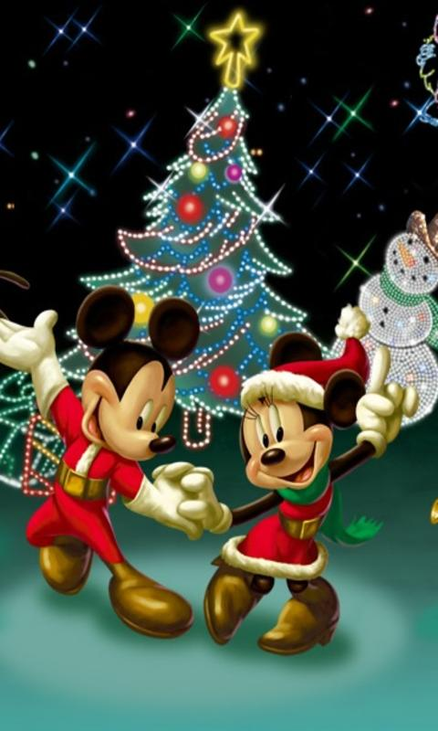 Mickey Minnie Dance On Christmas