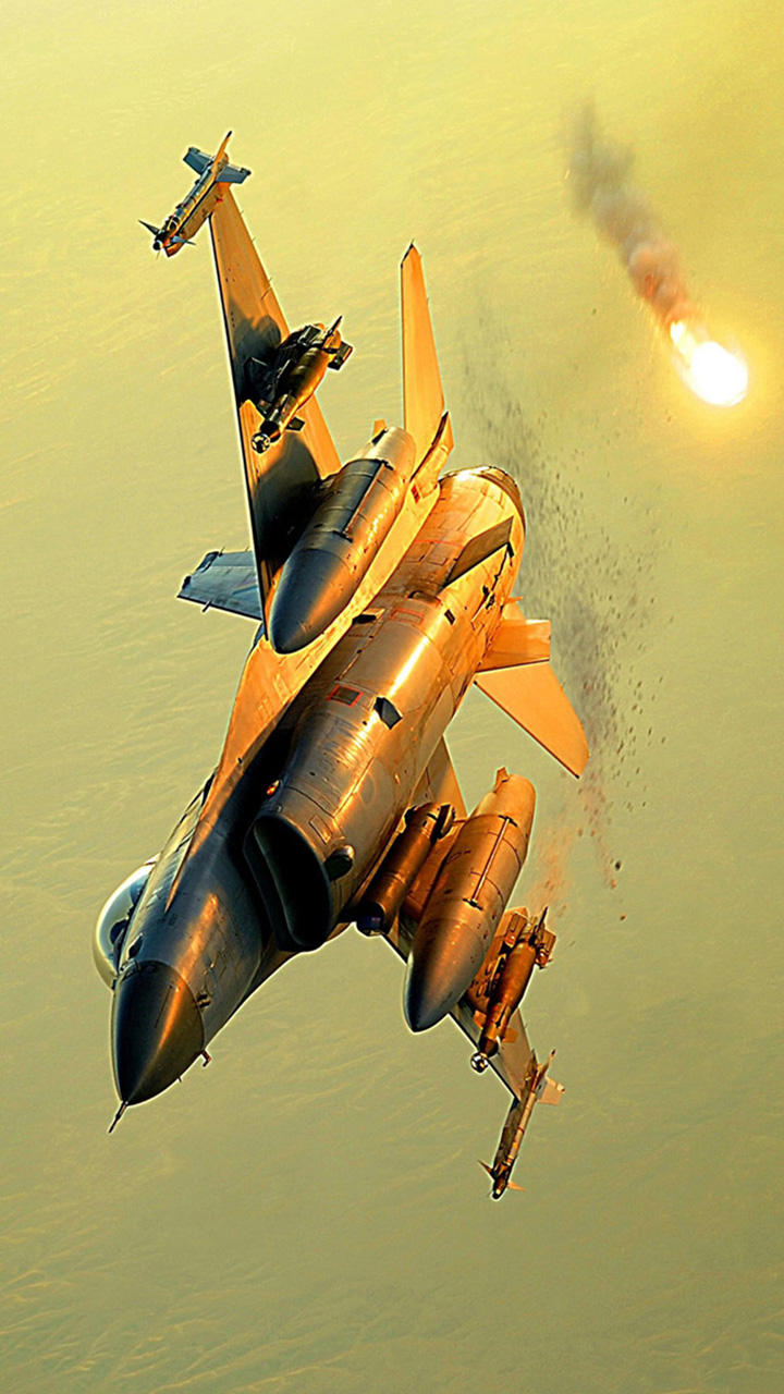 Modern Fighter Plane Wallpaper