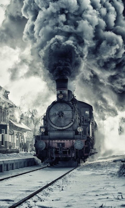 Old Train Wallpaper