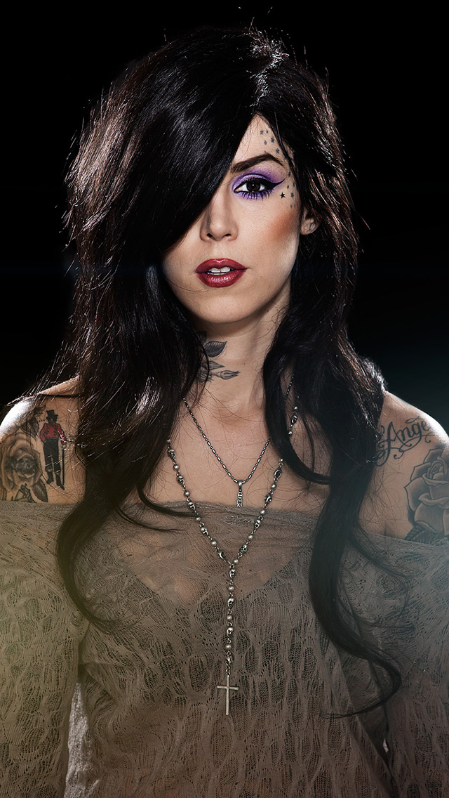 Cool Kat Von D Wallpaper