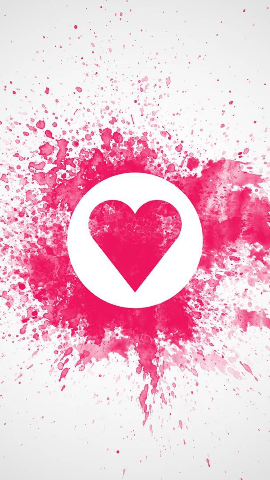 Abstract Love Heart Wallpaper