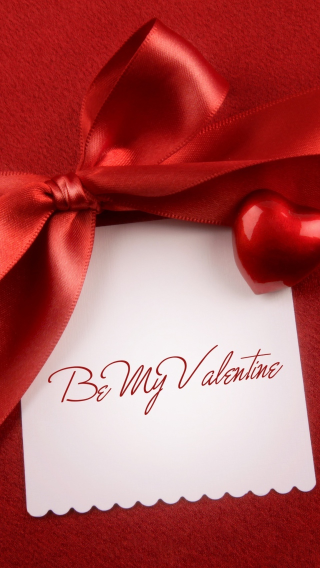 Be My Valentine Gift Wallpaper