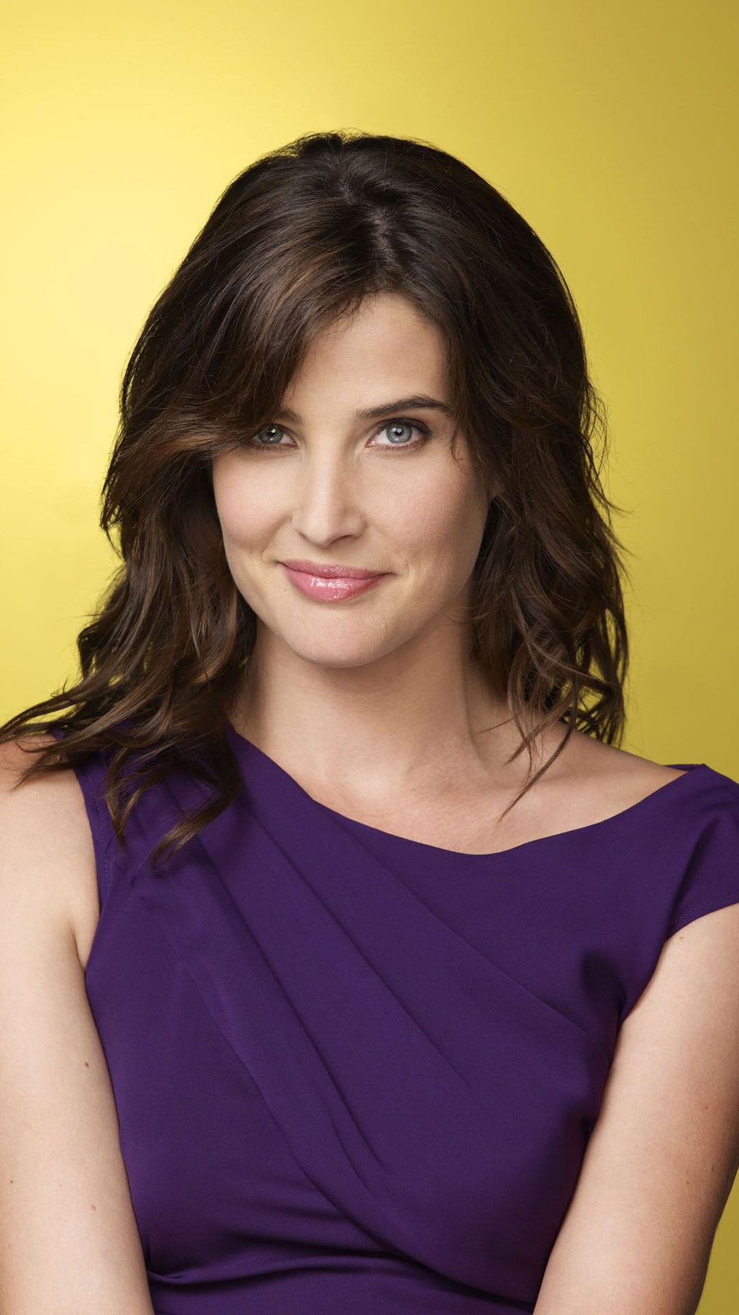 Celebrity Cobie Smulders Wallpaper Hd For Mobile Samsung Galaxy S4
