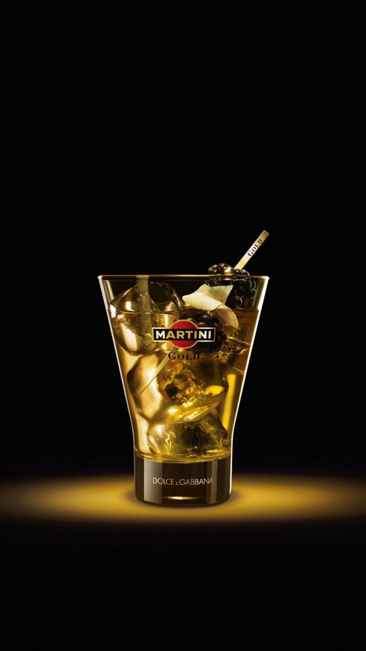 Martini Drink Glass Wallpaper