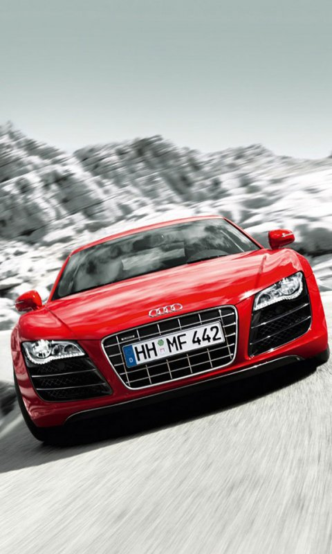 Red Audi Wallpaper