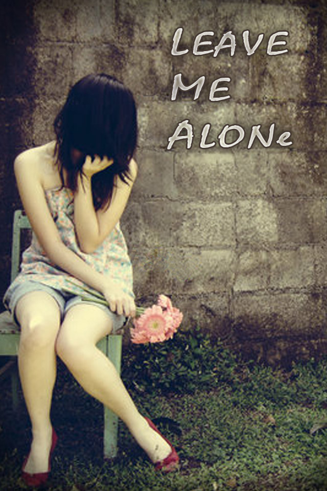 Sad Alone Girl Wallpaper