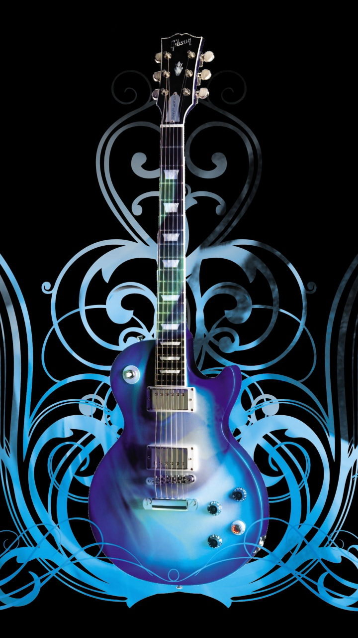 Abstract Guitar Wallpaper