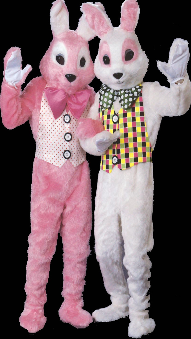 Colorful Easter Bunny Costume
