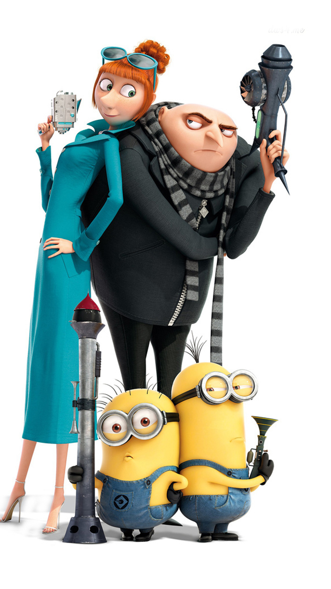 Minions On Despicable Me 2