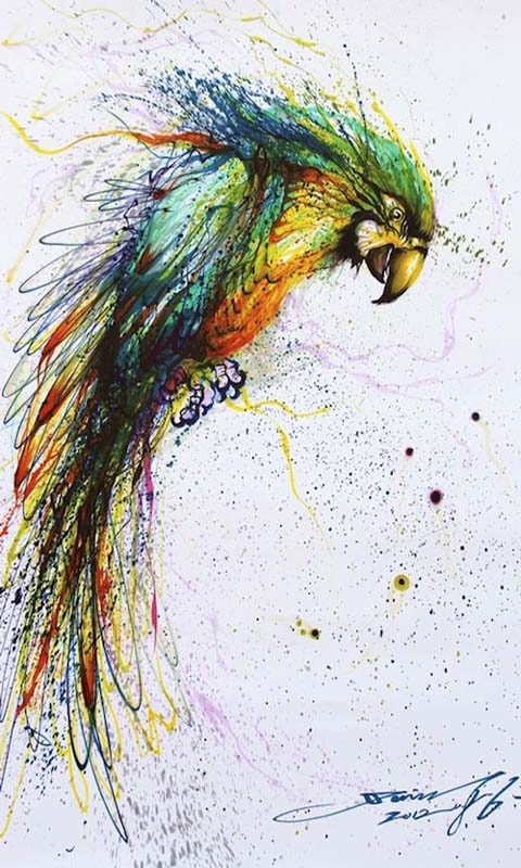 Splatter Eagle Picture