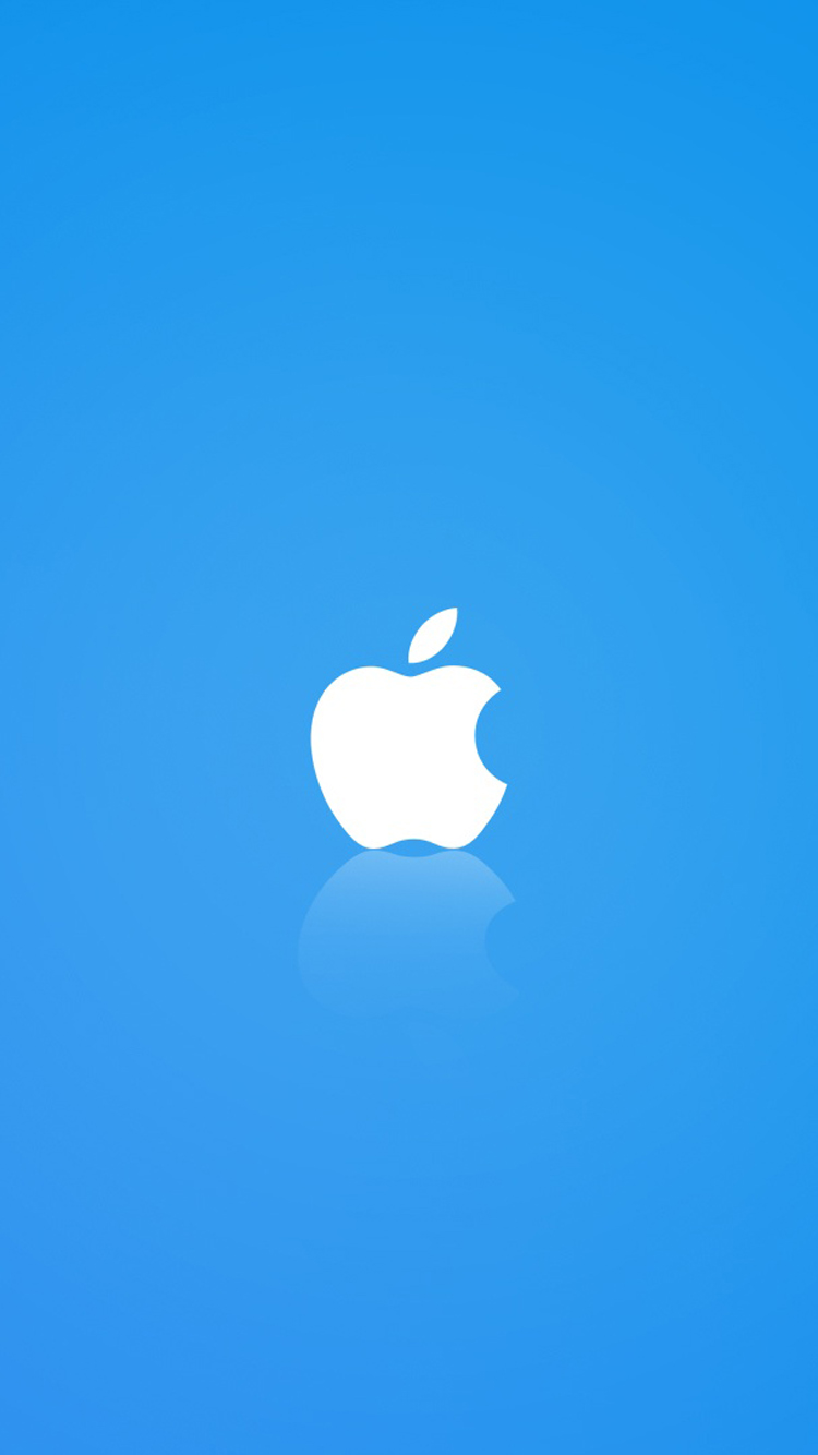 White Apple Logo Walpaper