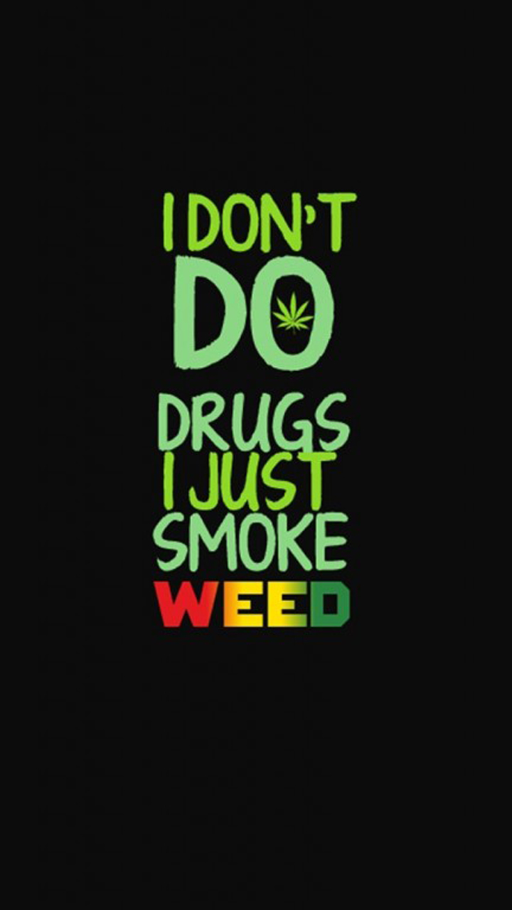 Drugs Phrase Wallpaper