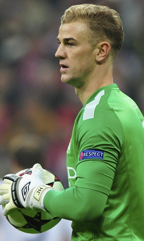 Joe hart goalkeeper