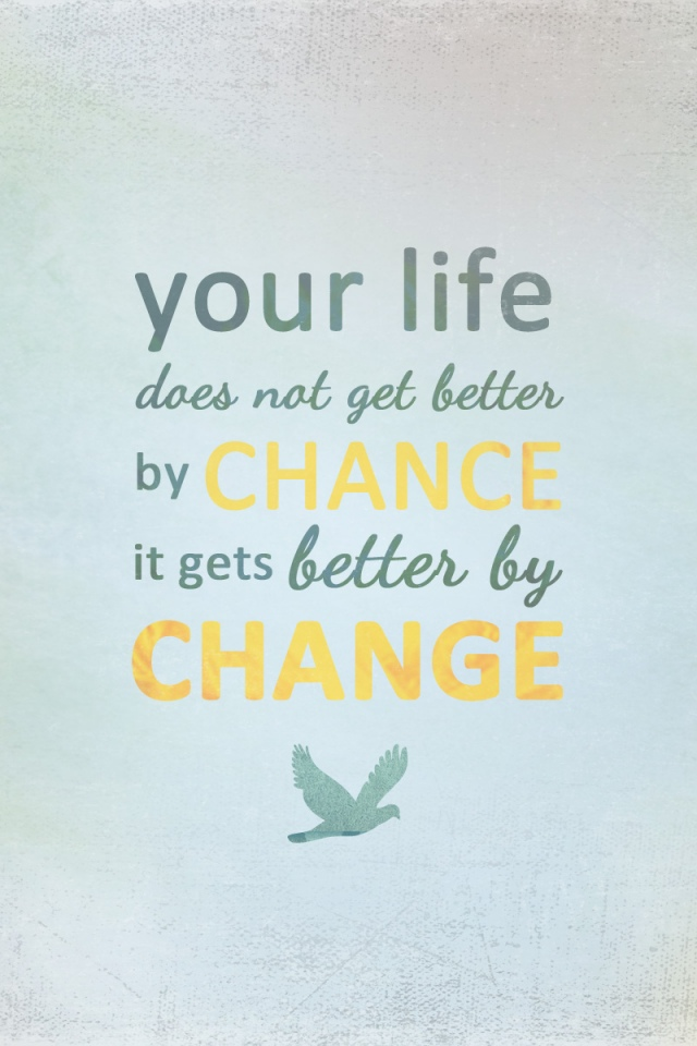 Life Changes Wallpaper Quote Inspirational Message The Best Collection Of Quotes