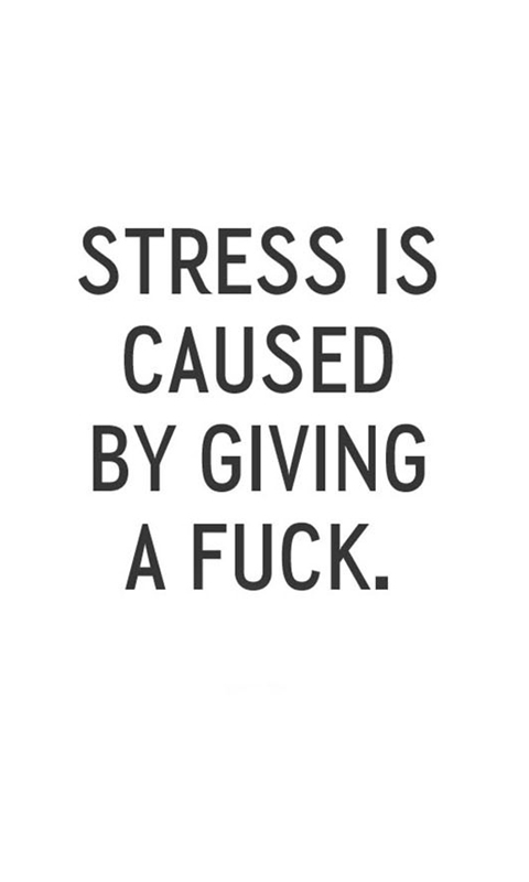 Stress Caused Quote