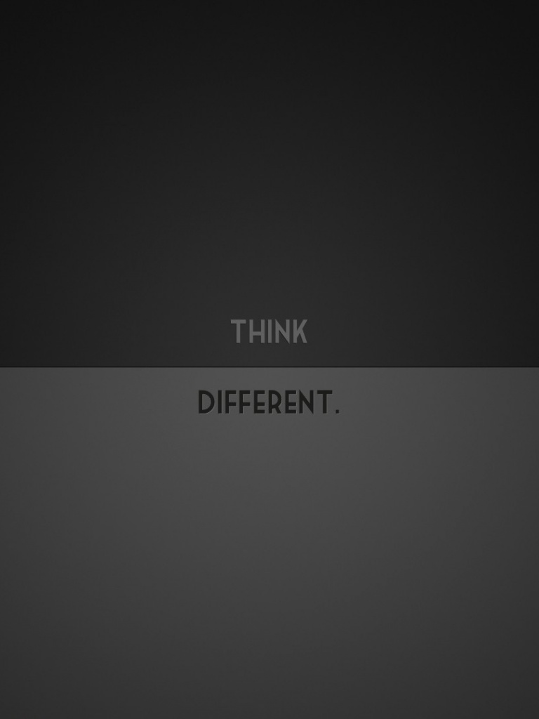 Think Different Wallpaer