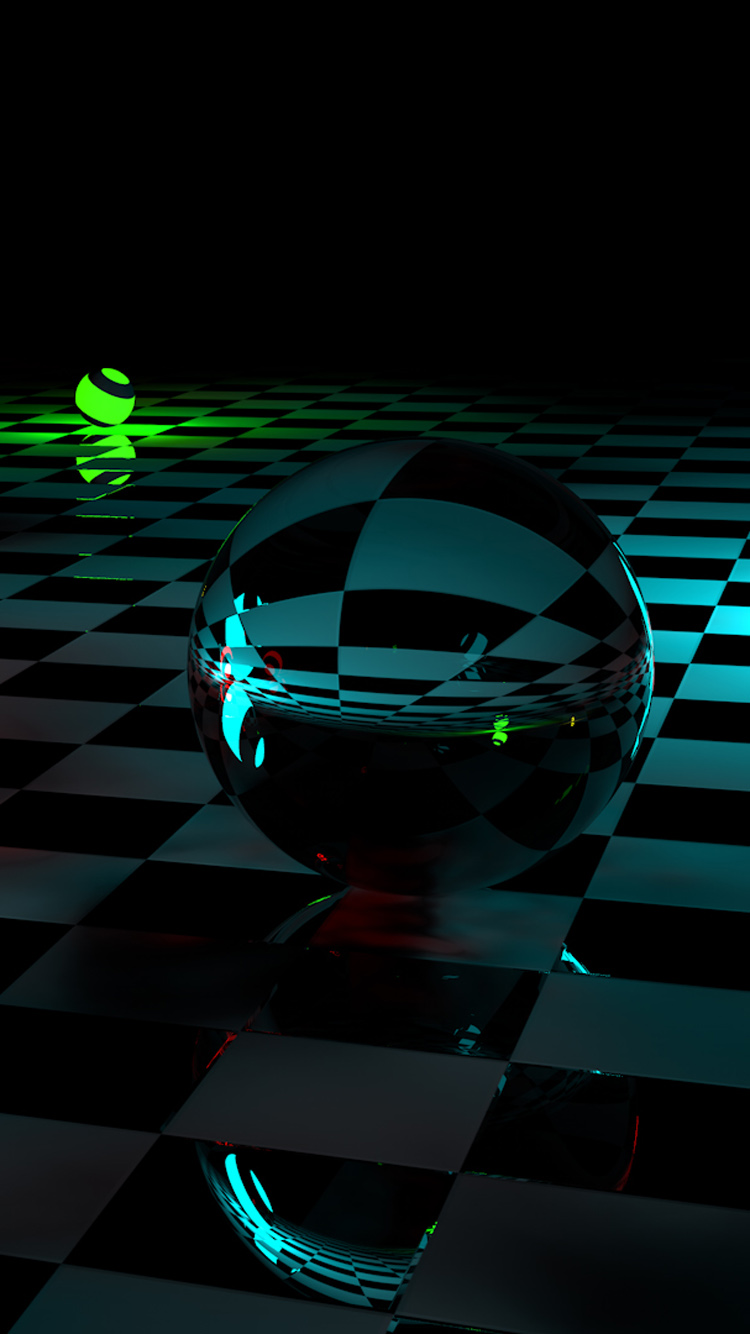 3D Crystal Balls HD Photo