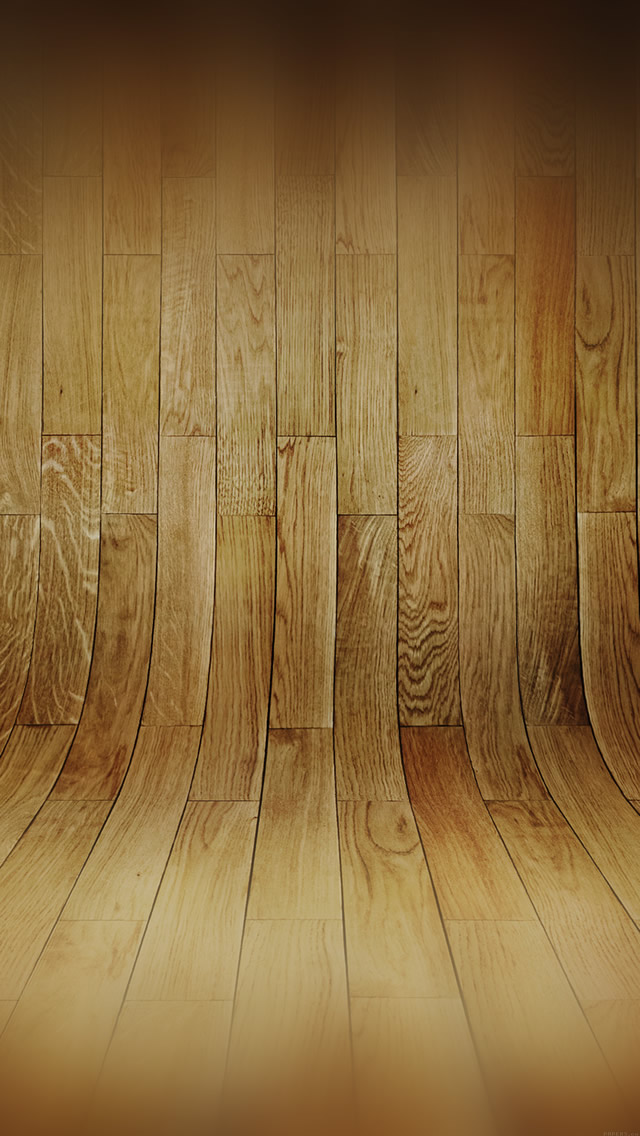 Curved Wood Wallpaper