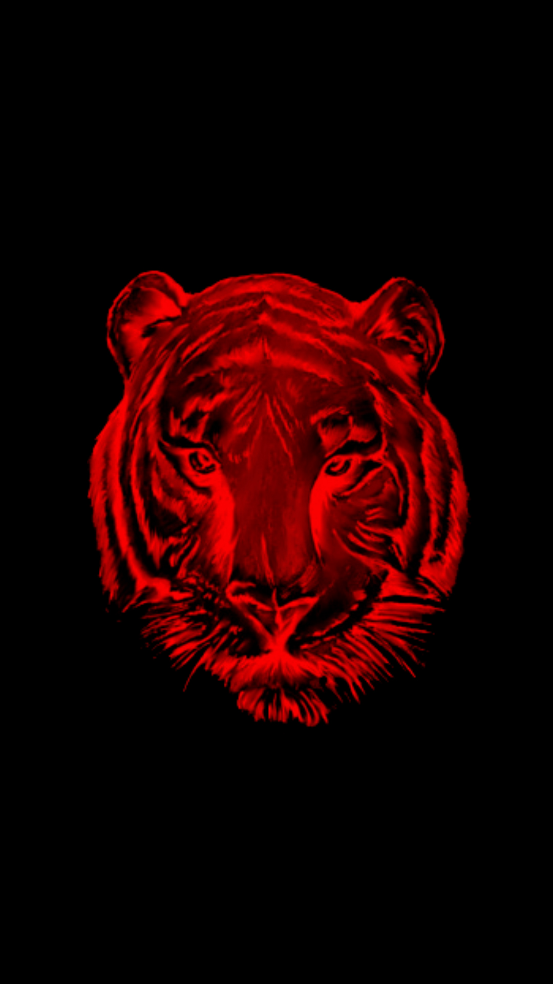 Minimalis Tiger Wallpaper