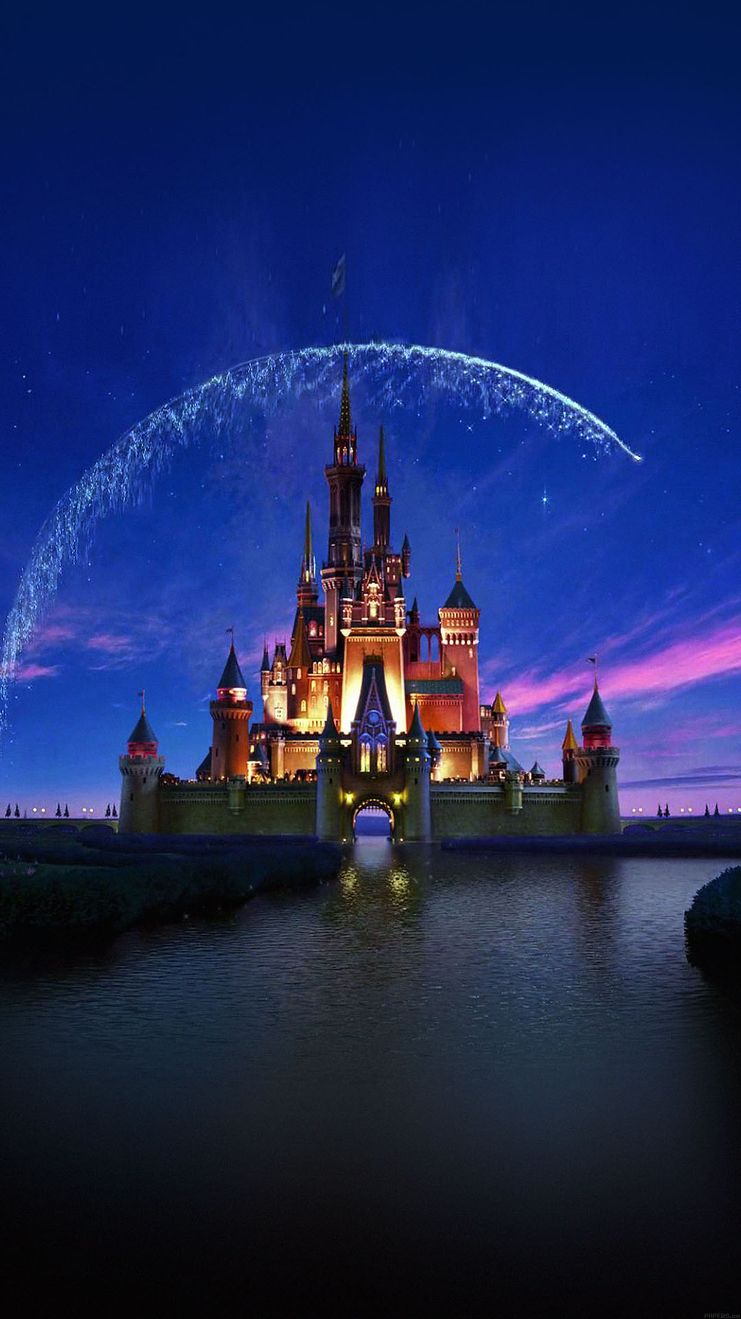Beautiful Disney Castle