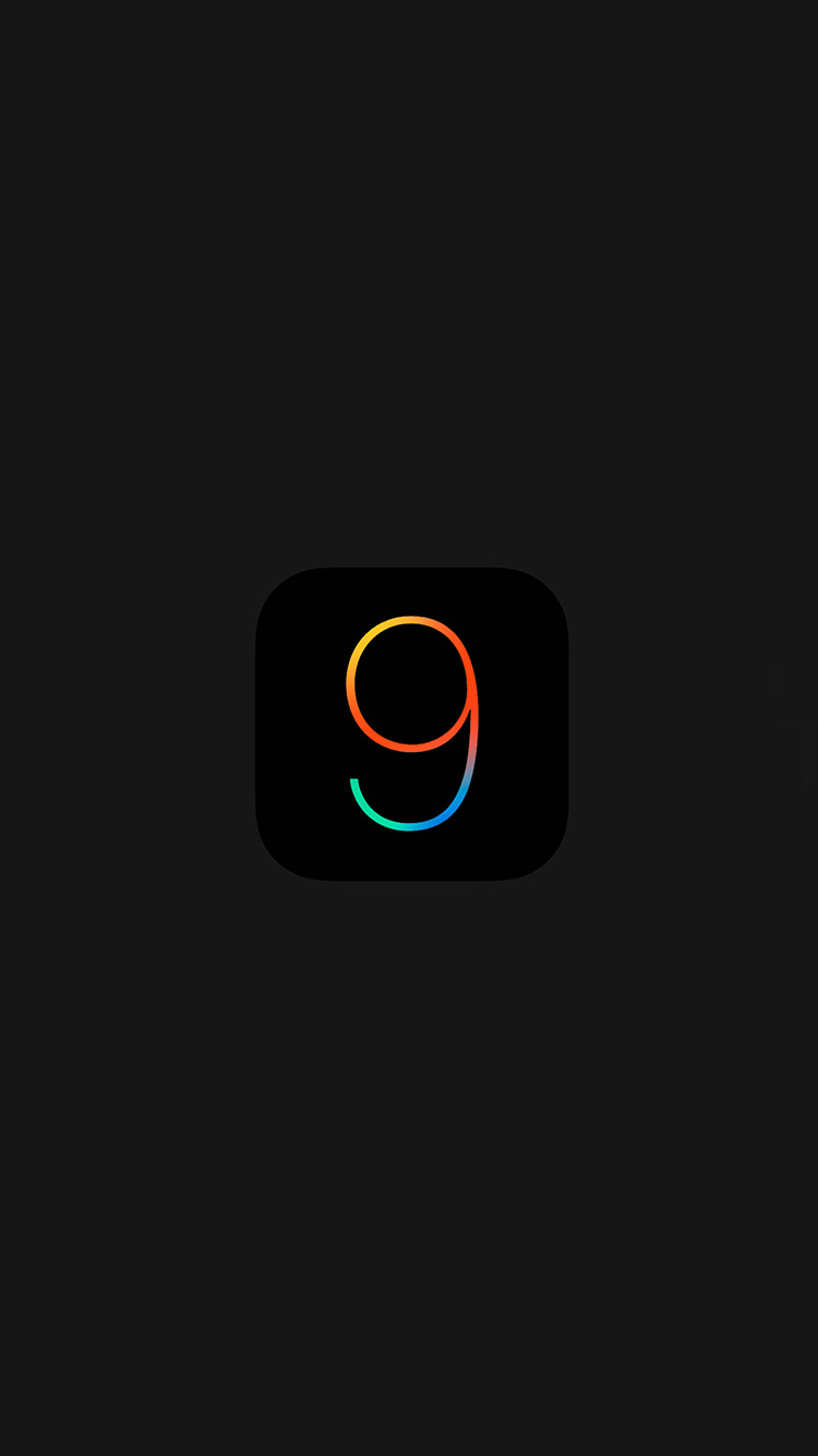 Dark IOS 9 Wallpaper
