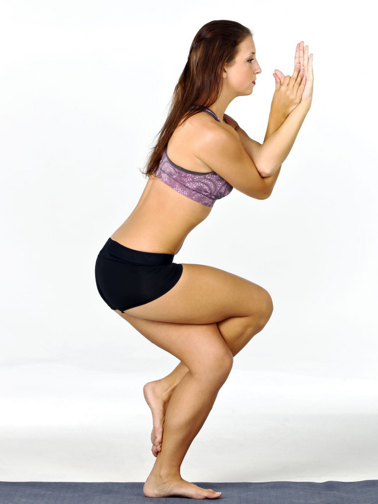 Eagle Pose Yogasana