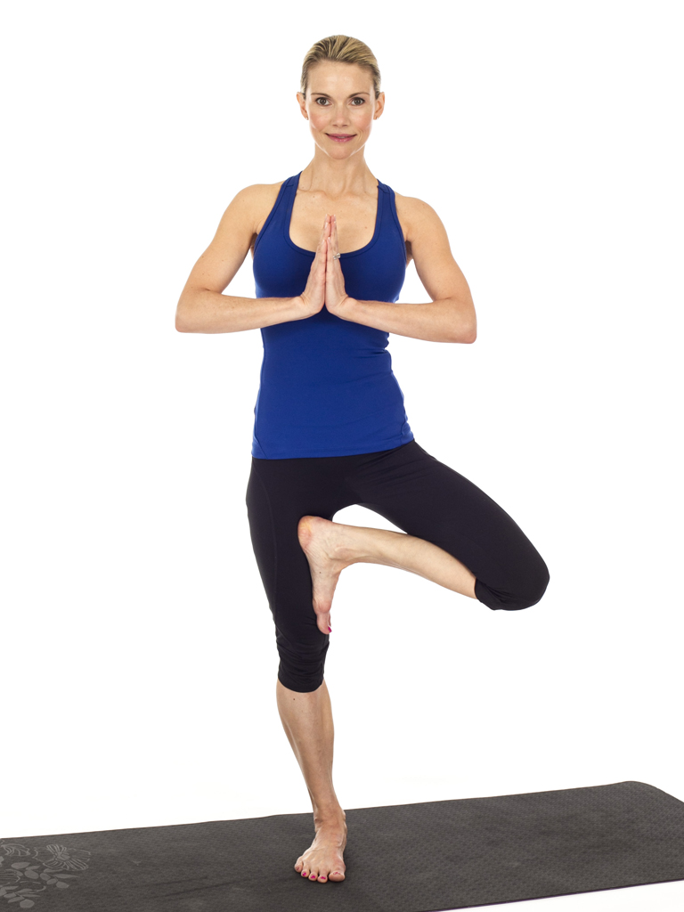 Tree Pose Yogasana