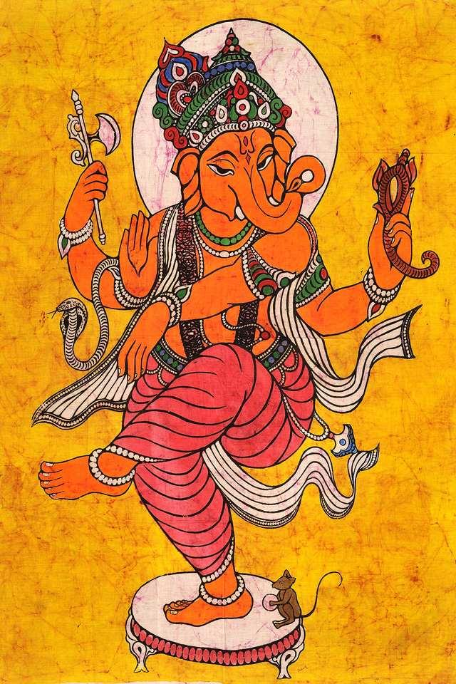 Ganesha Chaturthi Drawing Picture