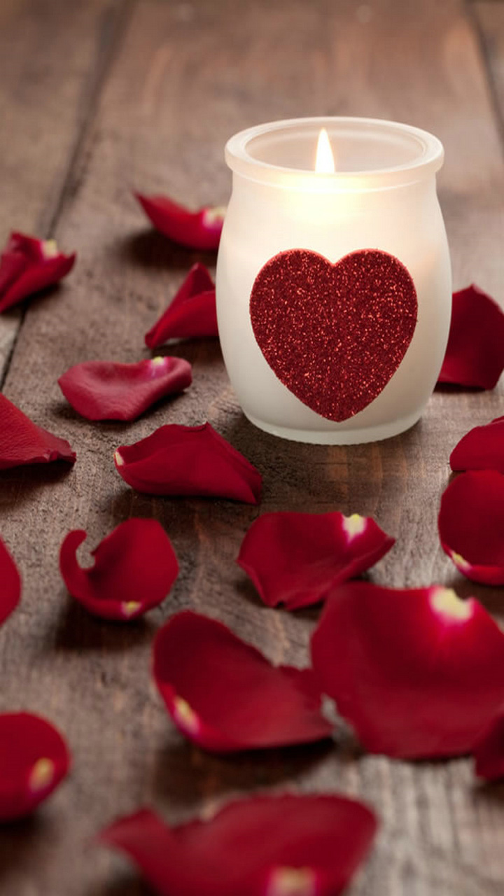 Love Wallpapers Hd Vertical : Love candle Wallpaper
