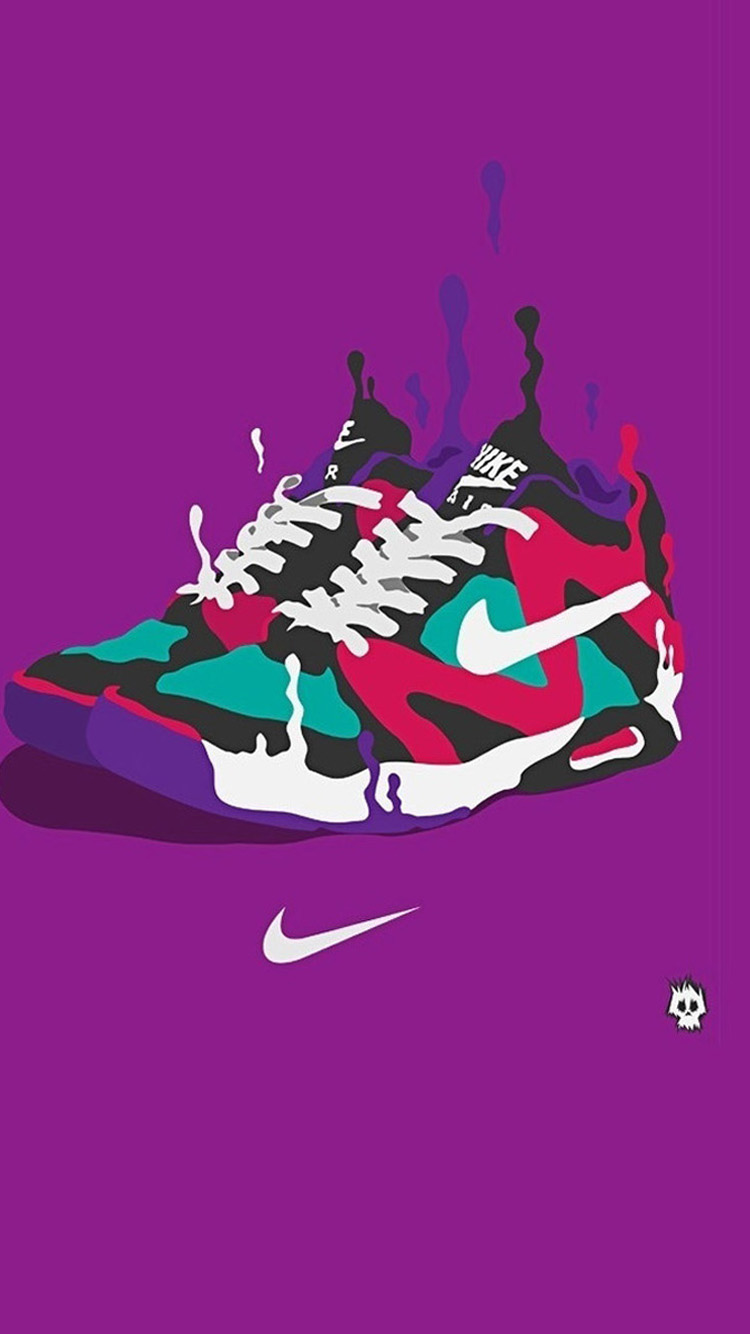 Nike Shoes Art