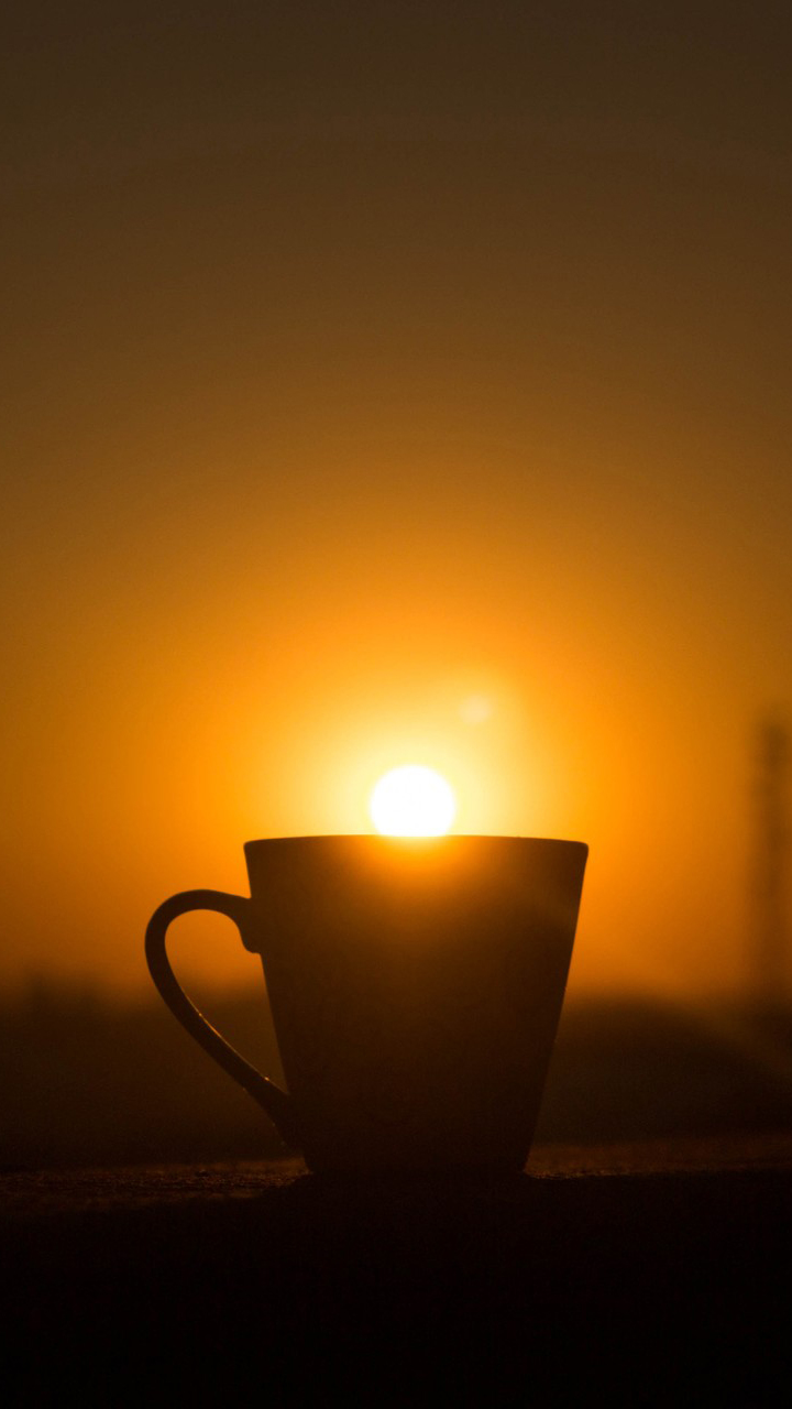 A Cup Of Sunset