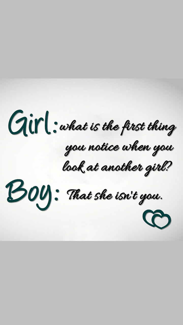 Girl Boy Funny Lines Quote