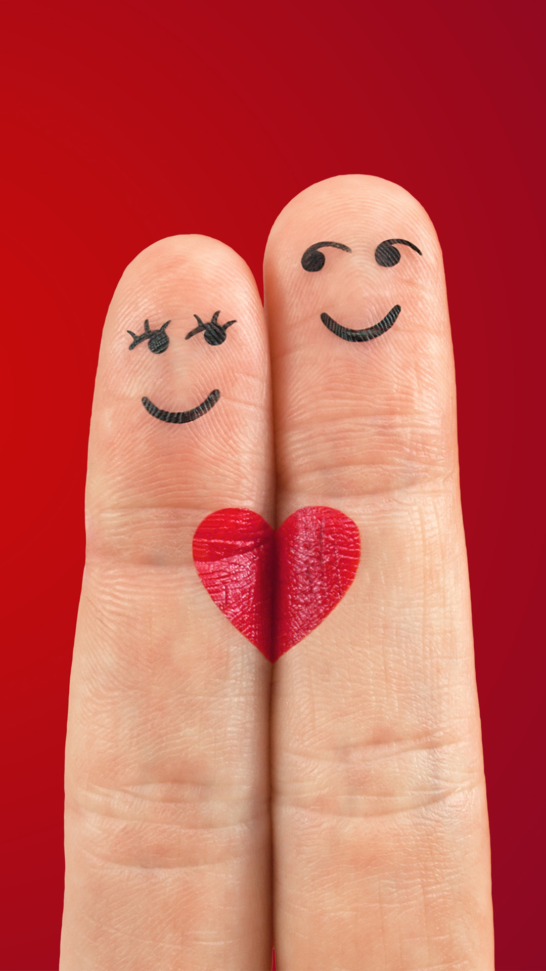 Love Fingers Valentine Pair