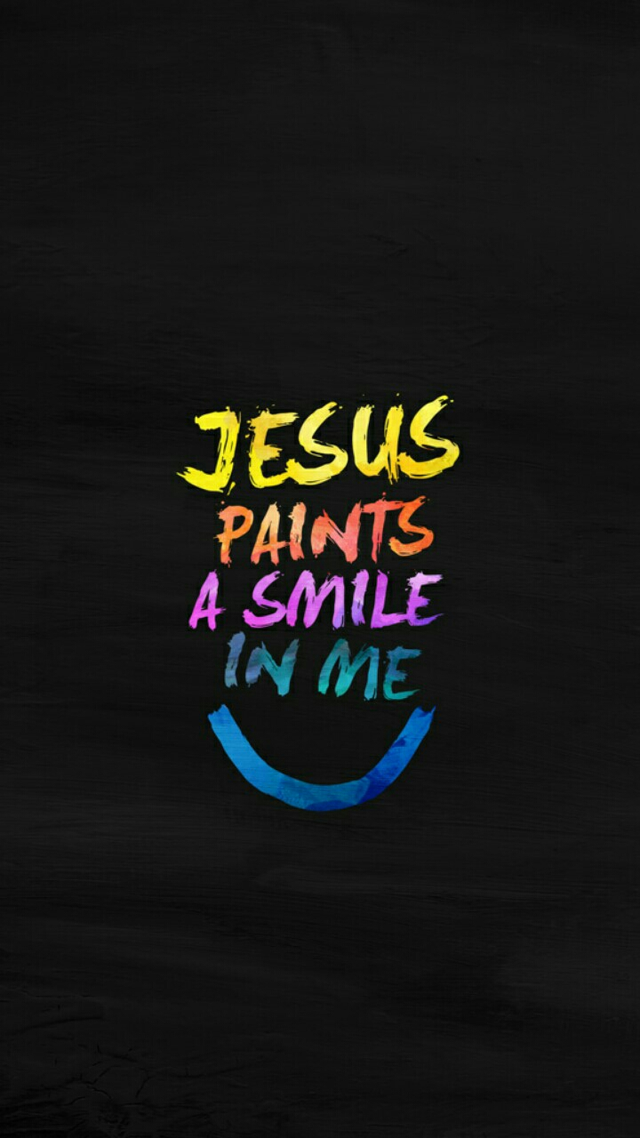 paints a smile quote | mobile wallpaper | phone background