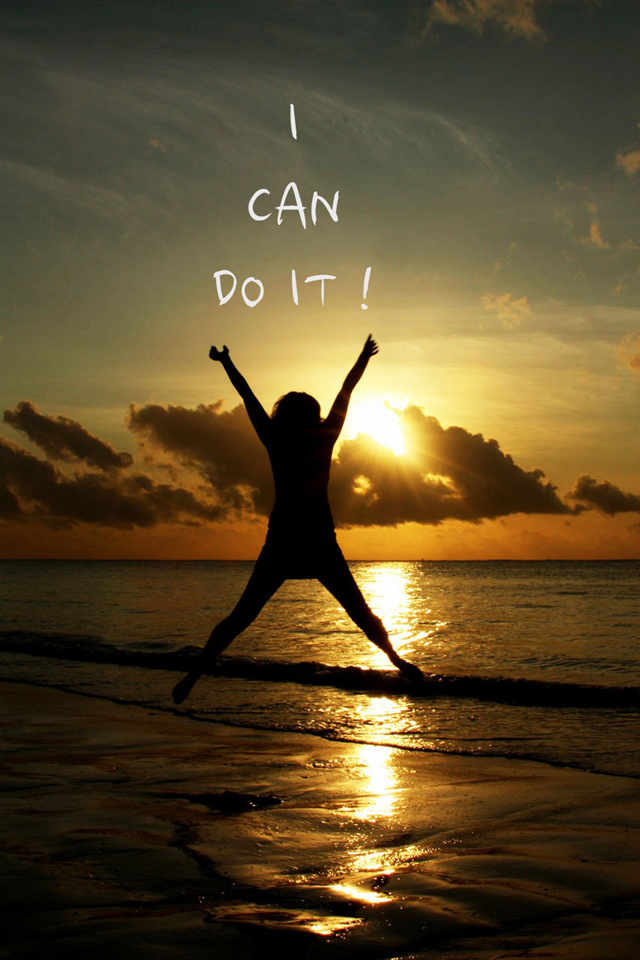 I can do it Silhouette