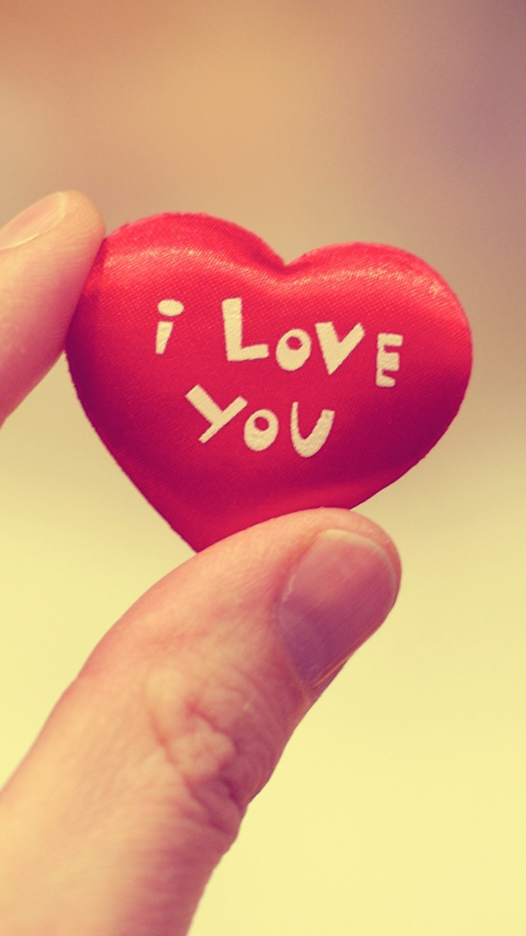 Wallpaper I Love You Heart : cute I Love You Heart