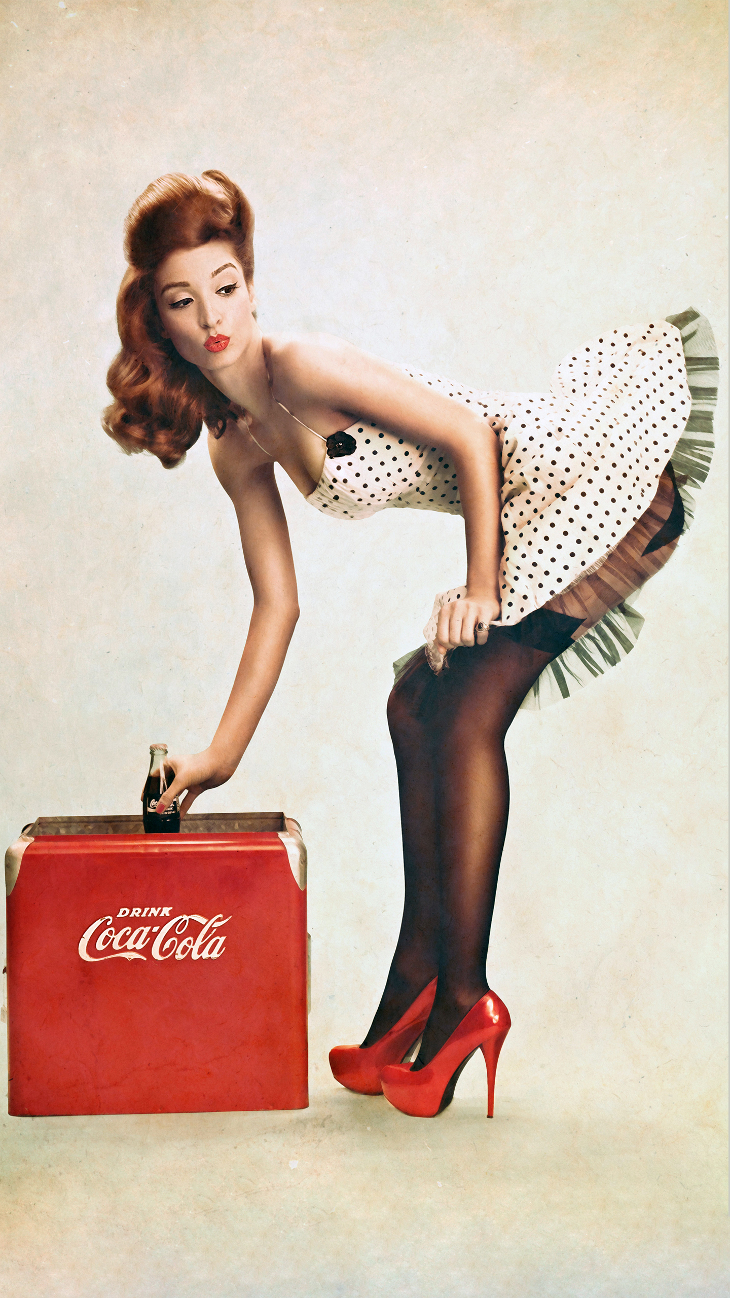 Drink Coca Cola Girl