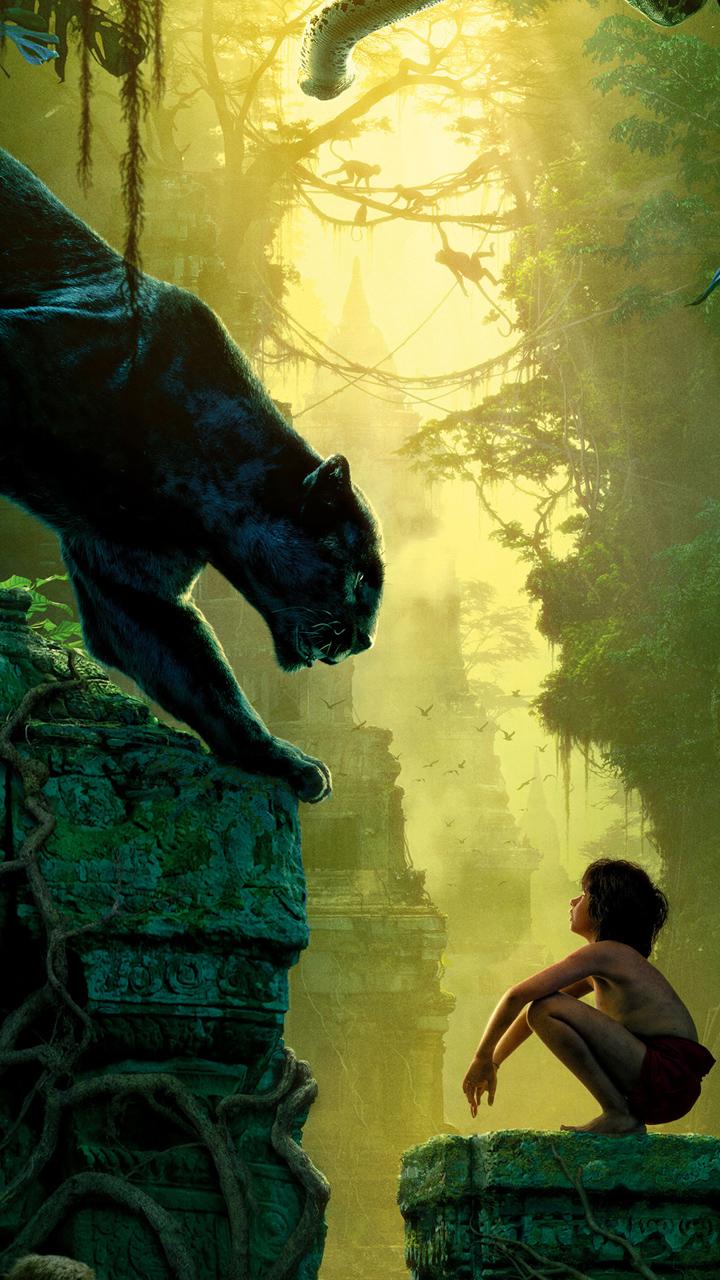 Mowgli Bagheera Jungle Book