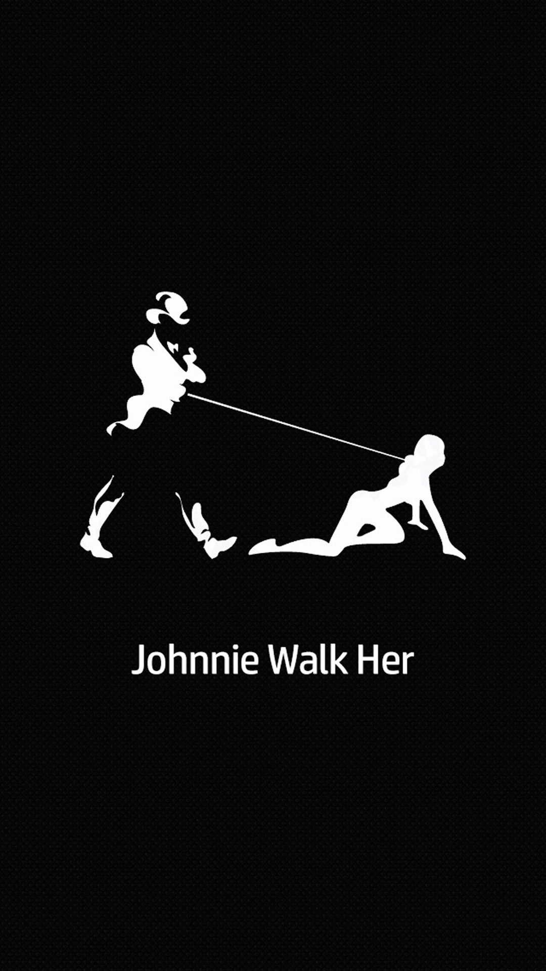 Johnnie Walk Her Picture