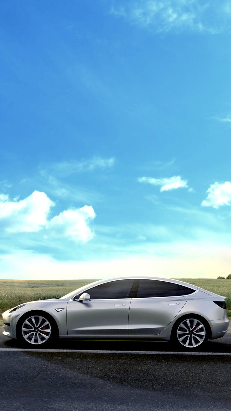 Tesla Model Wallpaper