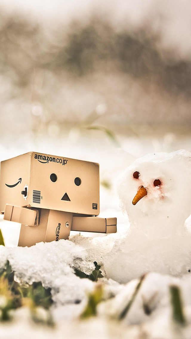Danbo And The Snowman