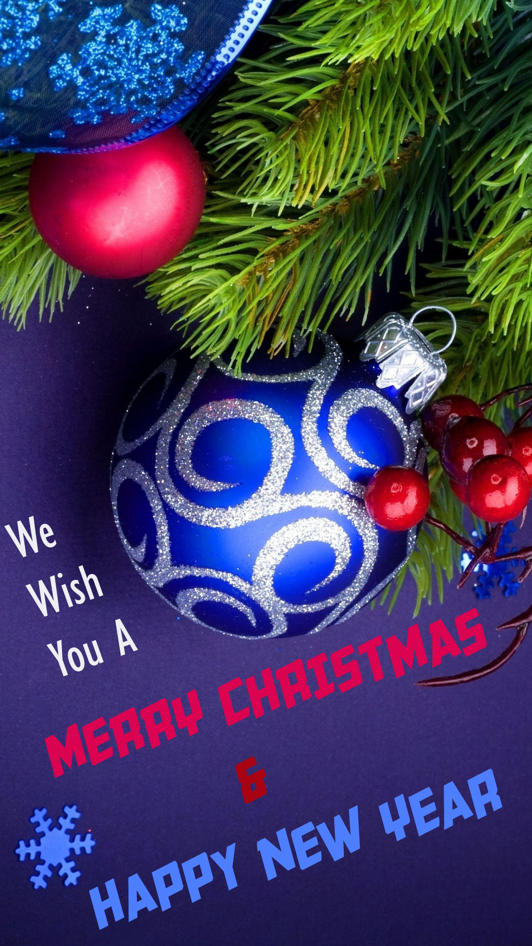 Wish You Christmas New Year