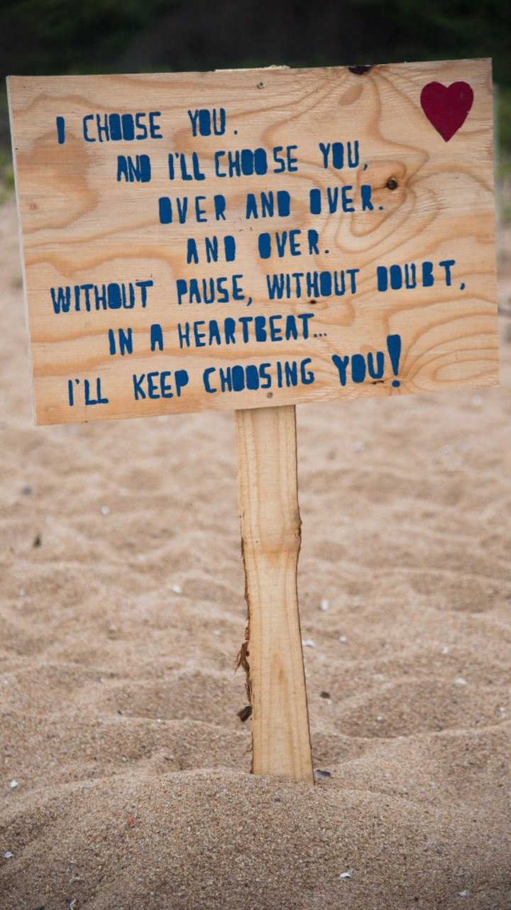 Beach Hearty Love Quotes