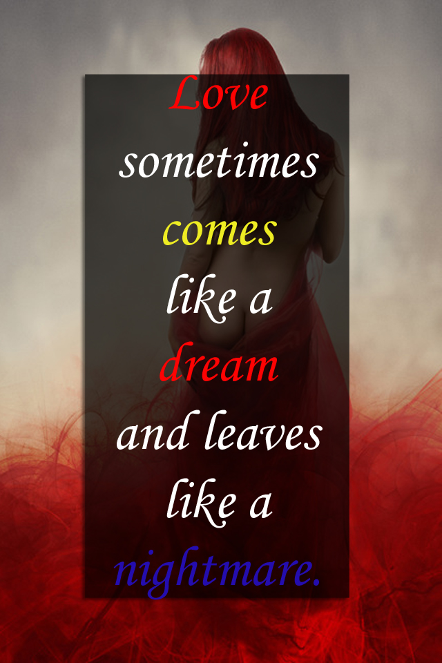Sad Love Quotes Wallpaper For Mobile : Dreamy Sad Love Quotes